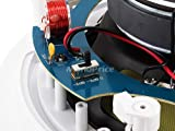 Monoprice 104104 8-Inch Kevlar 2-Way In-Ceiling Speakers (Pair)