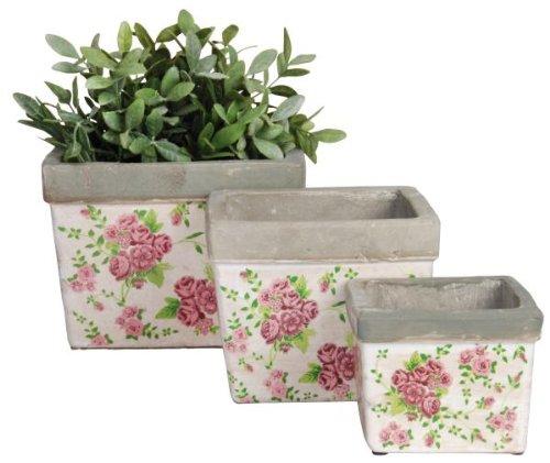 Ceramic-Square-Planters