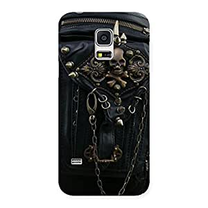 Enticing Zip Chain Back Case Cover for Galaxy S5 Mini