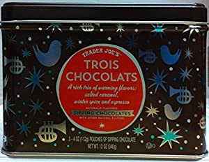 Trader Joe's Trois Chocolats Hot Chocolate Gift Set