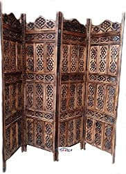 AAMAZING Shilpi:Wooden Partition / wooden Room Divider/ wooden Screen / wooden seperatorWooden Partition (Shesham Wood)/ Room Divider/Screen