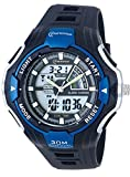 50m Water-proof Digital-analog Boys Girls Sport Digital Watch with Alarm Stopwatch Chronograph Blue