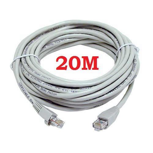 20M CAT5e RJ45 ETHERNET LAN NETWORK PATCH LEAD CABLE