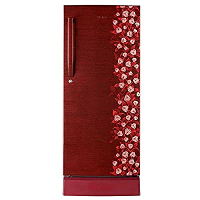 Haier HRD-2157PRI-R Direct-cool Single-door Refrigerator (195 Ltrs, 5 Star Rating, Red Iris)