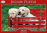 Toyrific Golden Retriever Jigsaw Puzzle (500 Pieces)
