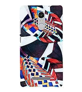 Modern Art Design Pattern 3D Hard Polycarbonate Designer Back Case Cover for Xiaomi Redmi Note 3 :: Xiaomi Redmi Note 3 (3rd Gen)