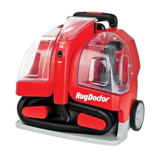 Rug Doctor Portable Spot Cleaner Machine, Red - Corded (Carpet Spot Cleaner Handheld compare prices)