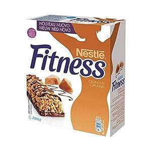 Nestlé Fitness - barre crunchy caramel x6 (une bôite)