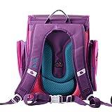 Moonwind Cute 3D Princess Waterproof Kids Children Primary School Book Backpack Shoulders Bag Girls (Rose/ Butterfly)