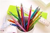 Outop 12 Colors Cartoon Fresh Star Diamond Color Gel Pen