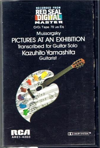 Mussorgsky - Kazuhito Yamashita-Pictures At An Exhibition - Transcribed For Solo Guitar-1982-SNOOK Download