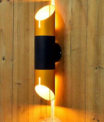 aluminium-moderne-mitre-mur-chevet-corridor-porche-lampe-murale