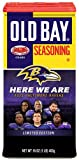 Old Bay Seasoning 16 oz Baltimore Ravens Limited Edition COMMEMORATIVE Tin