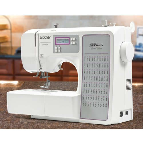 Brother Sewing Machine Computerized CE8080 Special Project Runway Edition (Monogramming And Sewing Machine compare prices)