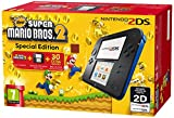 Nintendo 2204546 - 2DS HW BLACK BLUE NEW SUPER MARIO BROS 2