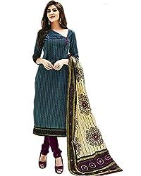 Aarvi Women's Cotton Unstiched Dress Material Multicolor -CV00158