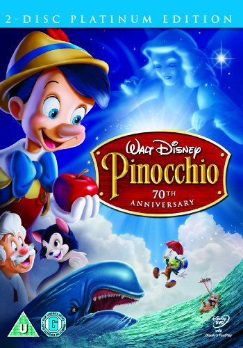Pinocchio (2 Disc Platinum Edition) [DVD]