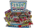 65th Birthday Gift Box 1949 - Retro Candy