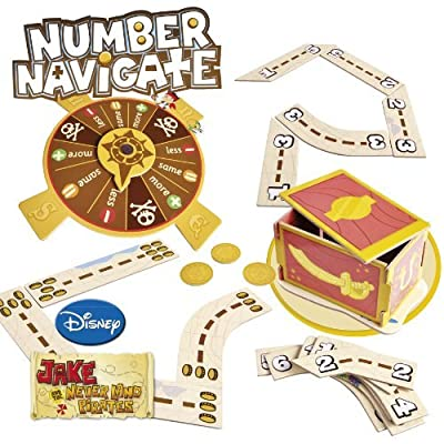 8 X Jake and The Neverland Pirates Number Navigate