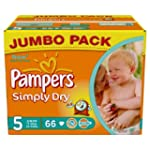 Pampers Simply Dry Size 5 (Junior) Ju...
