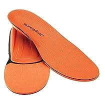 SUPERFEET 7406 Men's Comfort Insole Orange Men's 7.5-9
