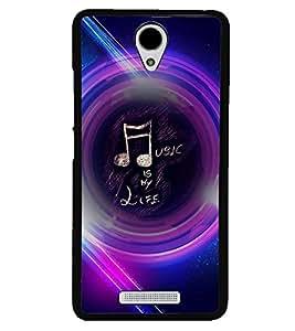 PRINTVISA Quotes Music Case Cover for Xiaomi Redmi 3S::Xiaomi Redmi 3::Xiaomi Redmi 3 (3rd Gen)
