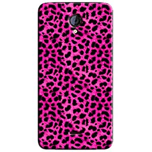 PINK PATTERN BACK COVER FOR MICROMAX UNITE 2