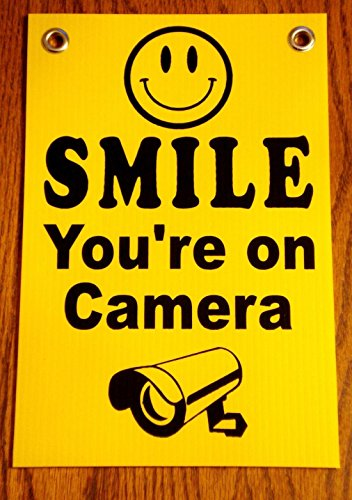 1-pc-bright-modern-smile-youre-on-camera-security-signs-coroplast-yard-surveillance-24hr-protection-