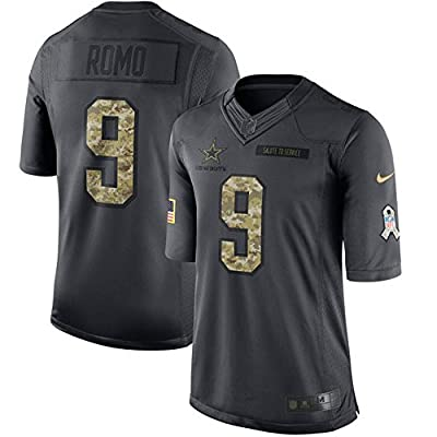 Tony Romo Dallas Cowboys Nike Salute to Service Limited Jersey - Anthracite