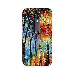 Mobicture Girl Abstract Premium Printed Case For Moto X Force