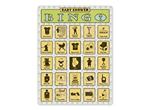 Baby Shower Bingo by Knock Knock