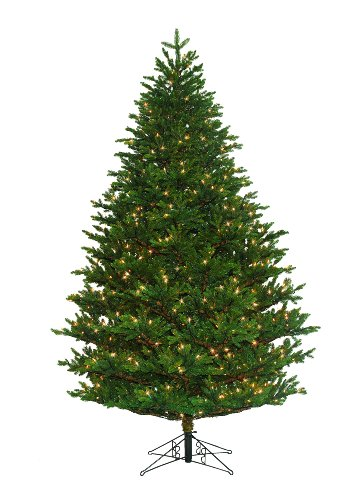 barcana shenandoah valley deluxe fir christmas tree 9 foot with 1150 clear mini lights - Barcana Christmas Trees