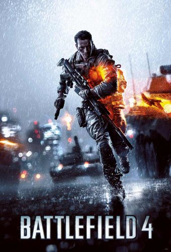 Battlefield 4 PC PS3 PS4 Game Poster (#001) (Battlefield Bad Company 2 Ps4 compare prices)
