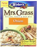 Mrs. Grass Onion Soup & Dip Mix, 2 Ounce Boxes (Pack of 6)