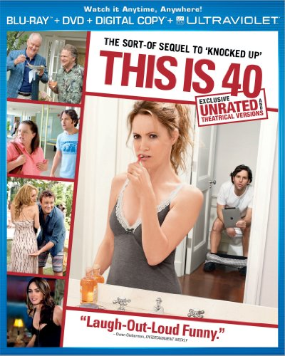 This Is 40 (Unrated Blu-ray + DVD + Digital Copy + UltraViolet) Cover Art
