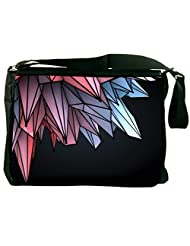 Snoogg Colorful Crystals 2607 Laptop Messenger Bag