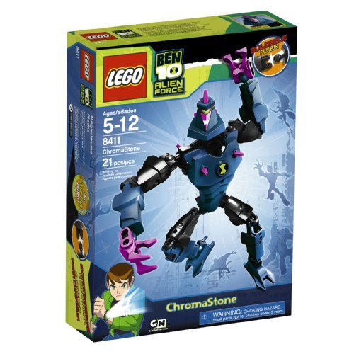Lego Ben 10 Alien Force Chromastone (8411) By Lego Picture