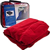 BSS - TrademarkT Electric Blanket for Automobile - 12 volt - Red