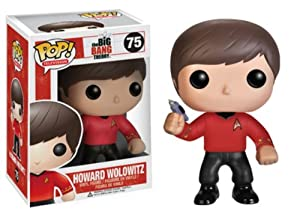 Funko POP Television Howard Star Trek Vinyl Figure
