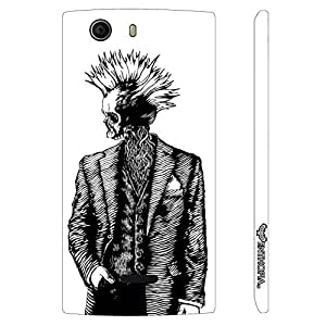 Micromax Canvas Nitro 2 E311 Suited Up Skeleton designer mobile hard shell case by Enthopia