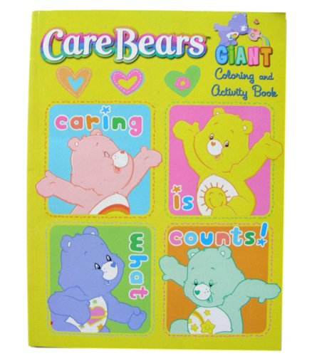 Care Bears Giant Coloring and Activity Book ~ Caring Is What Counts - 1