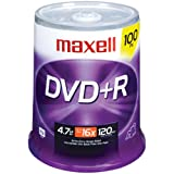 Maxell 634056 DVDR - 100 Pack (Discontinued by Manufacturer) ~ Maxell