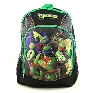 Teenage Mutant Ninja Turtles Deluxe Backpack by Teenage Mutant Ninja Turtles