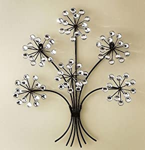 acrylic crystal antiqued metal tree wall decor art wall sculptures. Black Bedroom Furniture Sets. Home Design Ideas