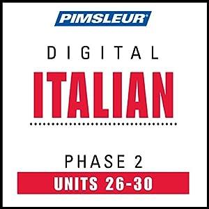 Italian Phase 2, Unit 26-30 Audiobook