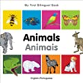 My First Bilingual Book-Animals (English-Portuguese)