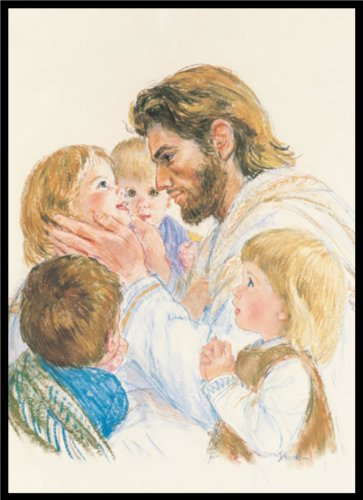 Jesus and the Little Children By Frances Hook | 5