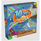 10 Days In the USA Board Game (from the Creator of Ticket to Ride)