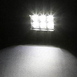 Un par de Luces de trabajo 18w con 6 Cree LED  SUV 4 Nilight todo terreno barco faro del punto de conducción niebla,  Luz Led Bar + soporte de montaje