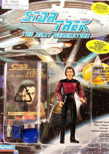 "Star Trek the Next Generation Ensign Ro Laren 4.5"" Action Figure"